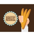 bakery shop design vector image vector image