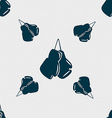 boxing gloves icon sign Seamless pattern with vector image