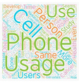 Can Cell Phones Harm Your Health text background vector image vector image