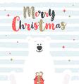 Christmas design vector image vector image