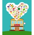 Grocery store vector image vector image