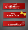 Holiday gift coupons vector image