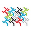 marathon running race icon vector image