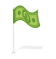 Dollar flag Financial paced checkbox Sign for