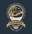 best california beaches for summer vacations vector image