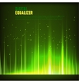 Digital equalizer vector image vector image