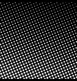 dots on black background pop art background vector image