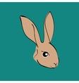 Easter Rabbit animal cartoon vector image