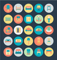 Furniture Icons 1 vector image vector image