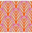 Ikat ethnic pattern with Kazakh motifs vector image vector image