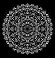 mandala ethnic australian dot paiting style vector image vector image