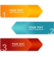 speech templates for text orange blue vector image