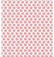 Valentine seamless with hearts vector image vector image