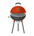 barbecue home or restaurant rarty dinner bbq vector image