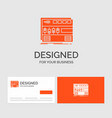 business logo template for audio mastering module vector image