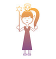 Cartoon fairy girl icon