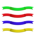 ribbon for celebration and party is EPS10 vector image vector image
