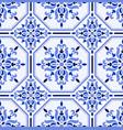 talavera tile pattern vector image vector image