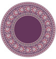 abstract ornamental nature ethnic round vector image vector image
