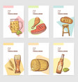 beer pub brochure template hand drawn menu vector image