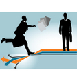 business risk vector image vector image