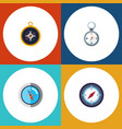 flat icon orientation set of direction divider vector image vector image