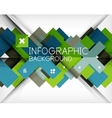 Infographic abstract background vector image vector image