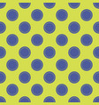 seamless abstract circle dots pattern vector image