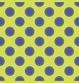 seamless abstract circle dots pattern vector image vector image