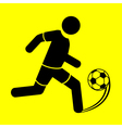 symbol soccer vector image