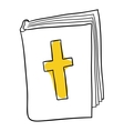 The Bible vector image