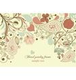 floral frame paisley motif