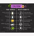 calcium in food banners-03 vector image vector image