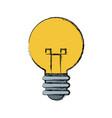 light bulb idea creative innovation symbol vector image vector image