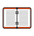 open notebook icon image vector image vector image