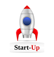 Start-Up vector image vector image