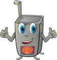 stove cartoon vector image vector image