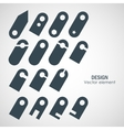 Set of labels and tag for price vector image
