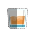 Delicious and fresh juice vector image vector image