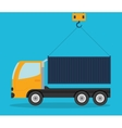 Delivery design Shipping icon Flat vector image