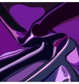 Violet abstract satin curtain background vector image