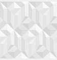 white and gray mosaic decorative texture vector image vector image