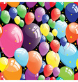 balloon background vector image