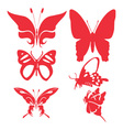 Butterfly Digital CLipart 1 vector image vector image