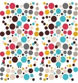 colored pattern of circles Ideal for vector image