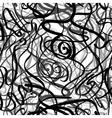 Black lines vector image vector image