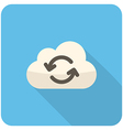 Cloud refresh icon vector image vector image