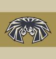 emblem american eagle for sport college team logo vector image