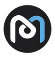 mdex mdx token new symbol defi project vector image vector image