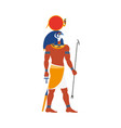 ra god of noon sun in ancient egypt religion vector image vector image